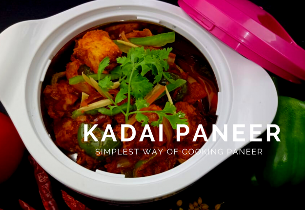 Kadai Paneer Recipe by Chef Ankit