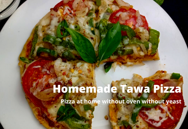 Homemade Tawa Pizza by Chef Ankit